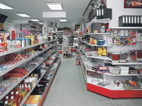 Ukázka prodejního regálu