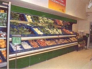 Prodejní regály do obchodu s ovocem a zeleninou