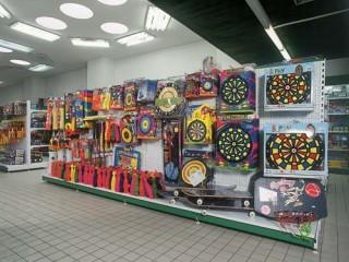 Prodejní regály na hračky
