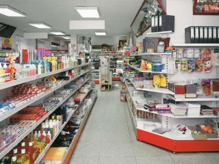 Prodejní regály na drogerii