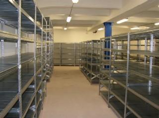Archivační regály na šanony