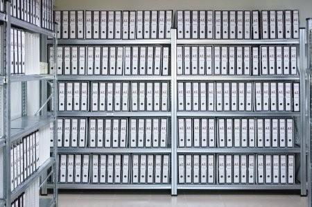 Archivační regály na šanony č. 3
