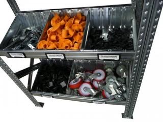 Regálové vanové panely a přepážky