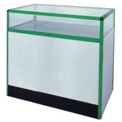 Prodejní pult s prosklenou vitrínou