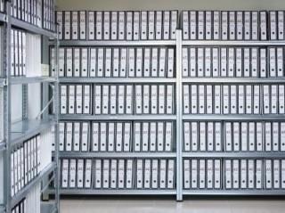 Šanonové regály do archivů