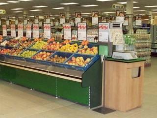Regály do obchodu - potraviny